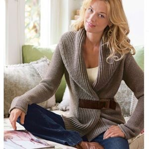 Soft Surroundings Country Weekend Sweater Small